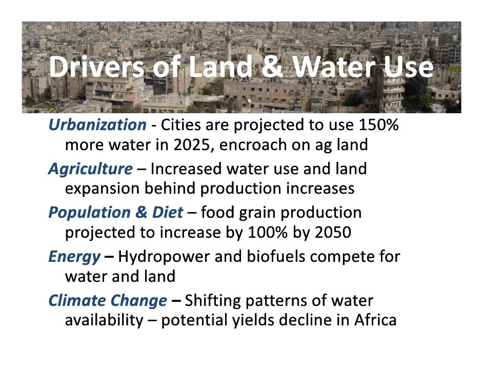 Land Water Ecosystems Slide 2