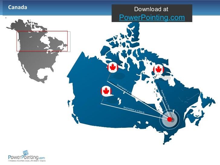 Canada  Destination x: y Hours Destination x: y Hours Destination x: y Hours