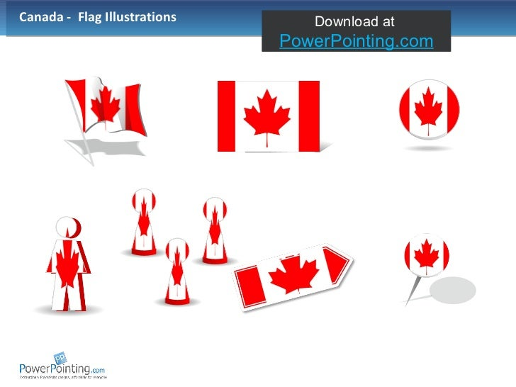 Canada -  Flag Illustrations