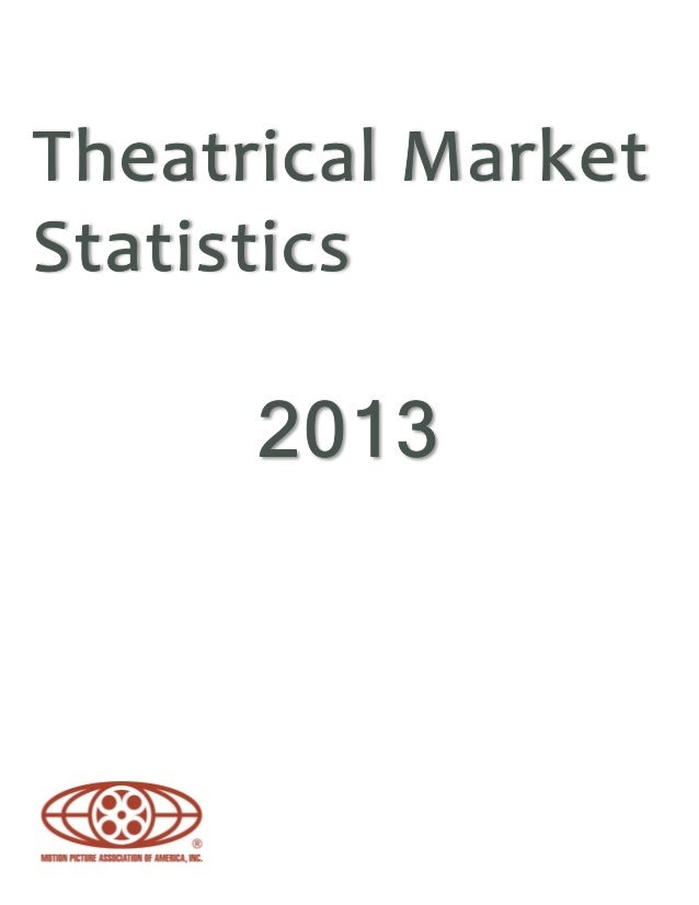 2013Theatrical statistics summary Global • Global box office for all films released in each country around the world reach...