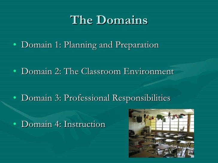 Framework for Teaching Slide 2