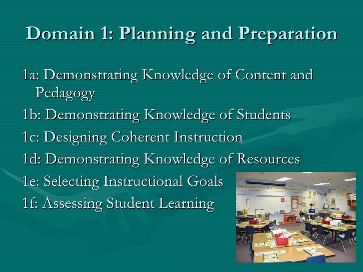 Framework for Teaching Slide 3