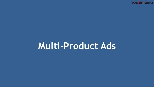 Multi-Product Ads