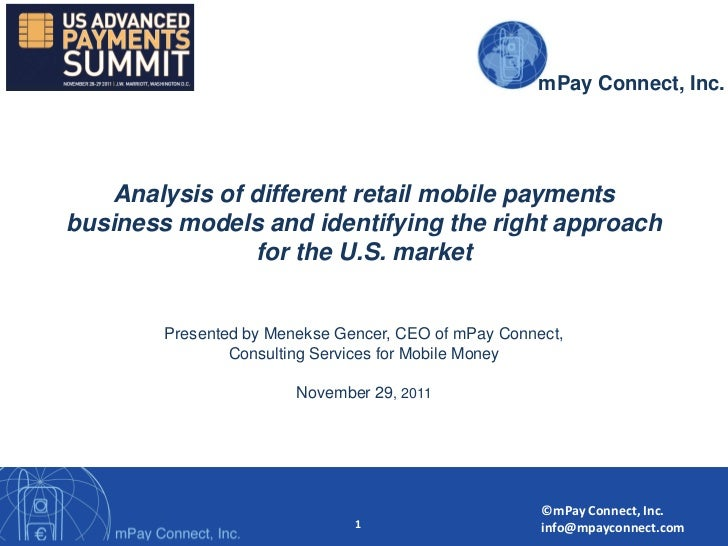mPaymPay Connect                                                         Connect, Inc.    Analysis of different retail mob...