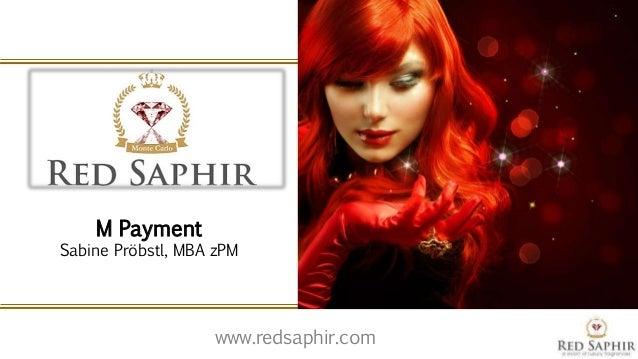www.redsaphir.com M Payment Sabine Pröbstl, MBA zPM
