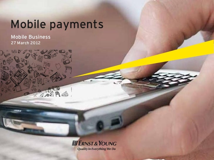 Mobile paymentsMobile Business27 March 2012