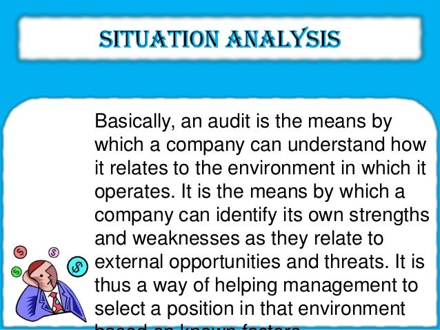 marketing situational analysis essay Learn how to conduct a swot analysis to identify situational strengths and   current profit ratio increased employee morale high market share has  increased.