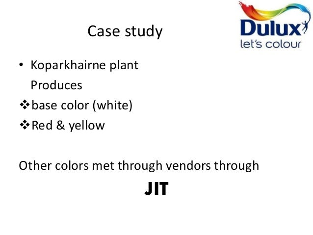 ici dulux case study Case stuy a case study by dr kim møller and  which now includes brands such as dulux, glidden, and  chemical company, imperial chemical industries (ici),.