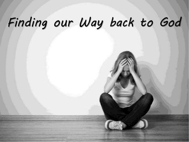 Image result for Back to God