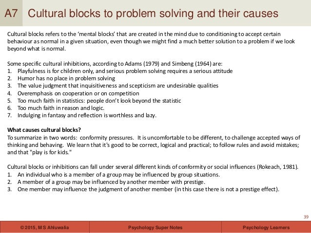 wickelgren general problem solving strategies psychology