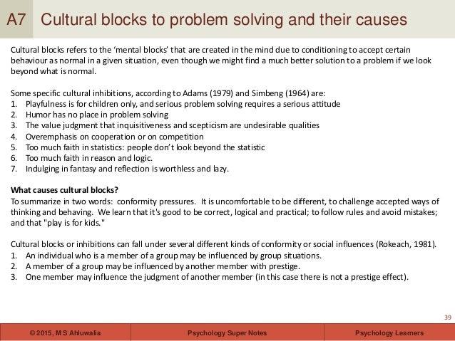wickelgren general problem solving strategies psychology