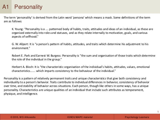 behavioral personality theory and habits Notebook, 1993- return to learning theories of personality 1 behavioral personality theory any model of personality that.