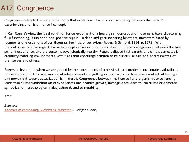 Personality theories and assessment for ignou students ebook 53 fandeluxe Gallery