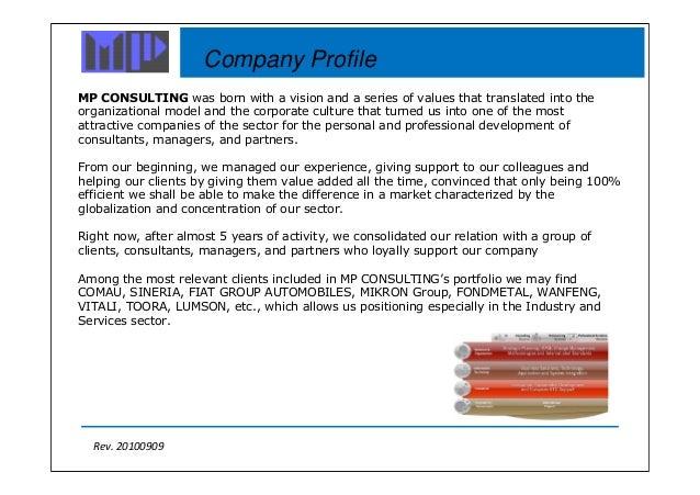 Mp Consulting Company Profile Slide 2