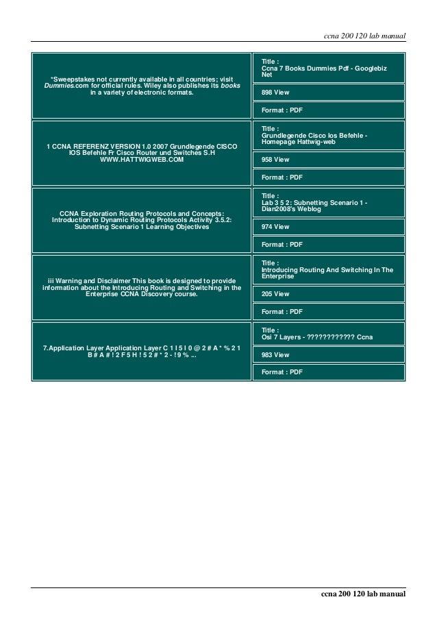 mpdf rh slideshare net ccna 3 scaling networks instructor lab manual ccna scaling networks instructor lab manual