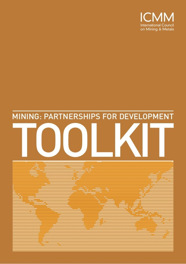 TOOLKITMINING: PARTNERSHIPS FOR DEVELOPMENT