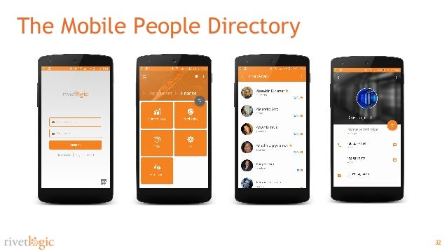 32 The Mobile People Directory ...