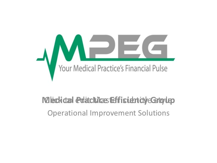 Medical Practice Efficiency Group Operational Improvement Solutions C:UsersmstaffDocumentslogo.jpg