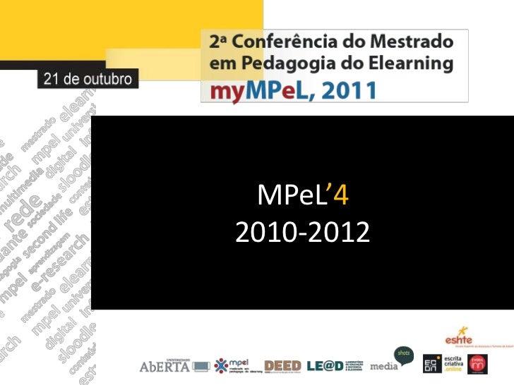 MPeL'42010-2012