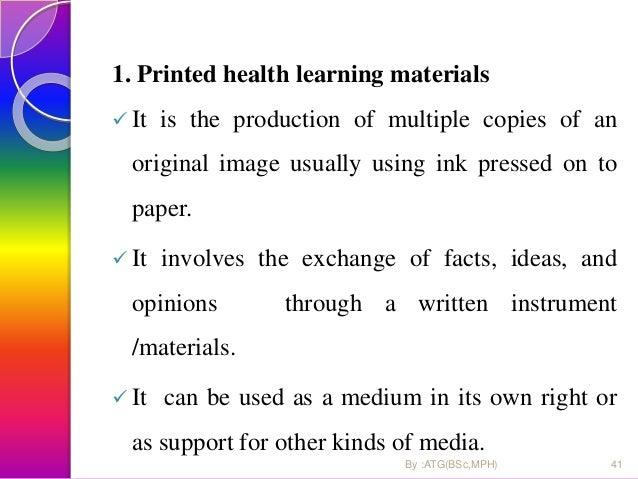 Print materials ….  Example of print IEC materials 1. Poster 2. flipcharts 3. leaflets 4. booklets 5. cards 6. News paper...