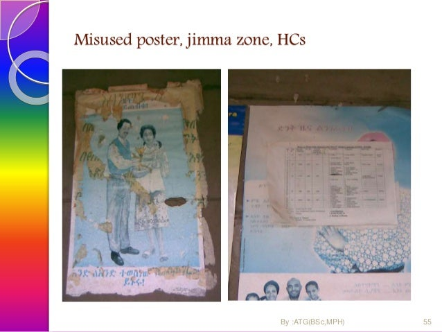 Misused poster, Jimma zone, HCs 56By :ATG(BSc,MPH)