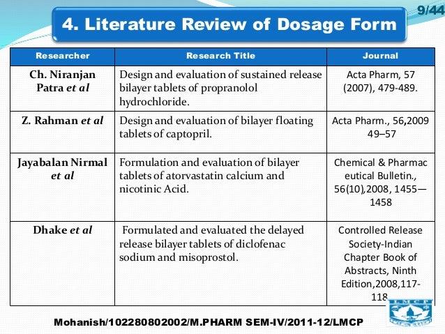 how to develop tablet formulation