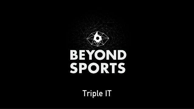ROBERT OVERWEG Director  concept & strategy Beyond Sports