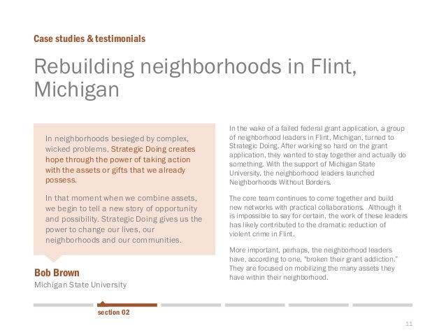 11  Rebuilding neighborhoods in Flint, Michigan  Case studies & testimonials  section 02  Bob Brown  Michigan State Univer...