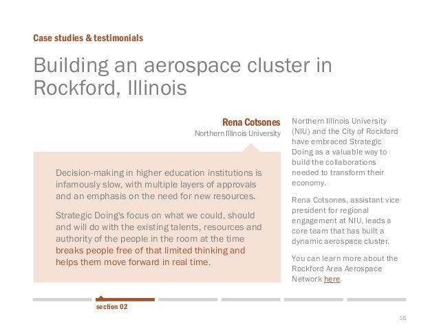 16  Building an aerospace cluster in Rockford, Illinois  Case studies & testimonials  Northern Illinois University (NIU) a...