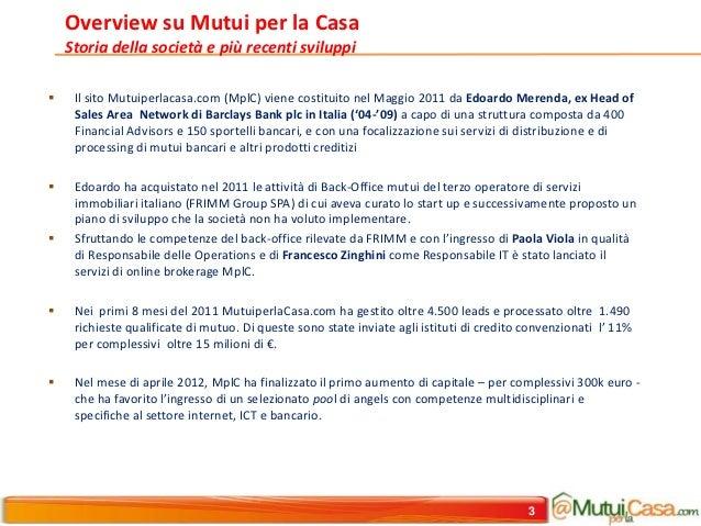 Mpl c second round updated sept 2012 ext for Mutui per la casa