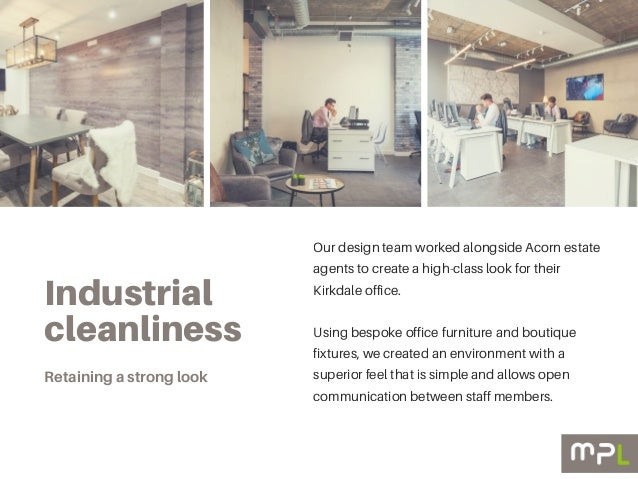 estate agent office design. 3. Industrial Cleanliness Our Design Team Worked Alongside Acorn Estate Agents Agent Office