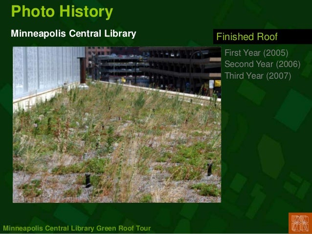 Mpls Library Greenroof