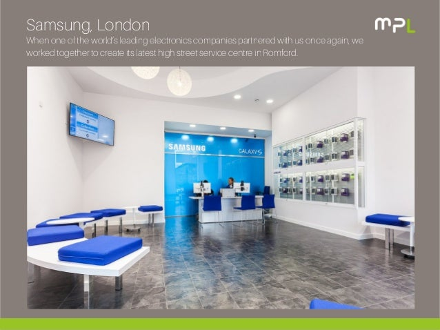 Samsung Commercial Fit Out Programme Mpl Interiors