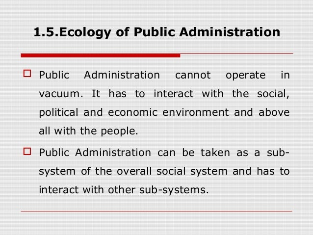 اکولوژی عمومی