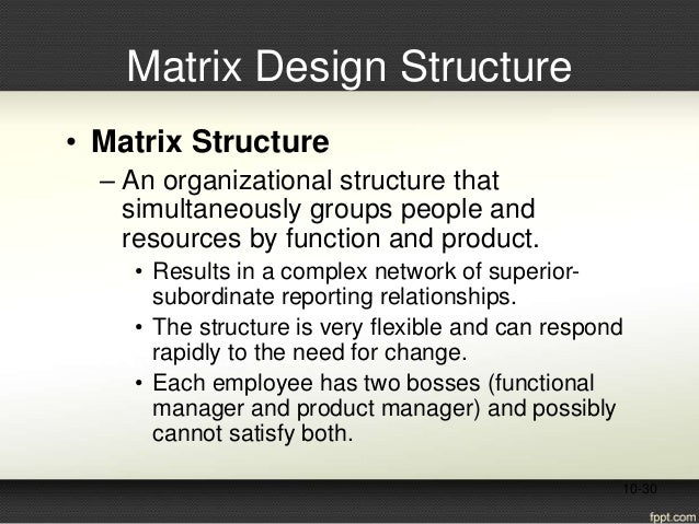 matrix structure - superior to divisional and functional structures essay Staff or functional authority organisational structure line and staff organisational  structure committee organisational structure divisional organisational.