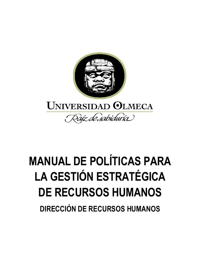 M politicasgestionestrategicarh2013