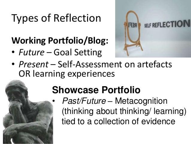 Structure of ePortfolio Types • Portfolio as Process/ Workspace – Organization: Chronological – Documenting growth over ti...