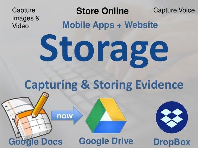 Google Drive • Edit all files • Organize files • Share files, collaborate