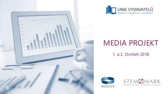 MEDIA PROJEKT 1. a 2. čtvrtletí 2018