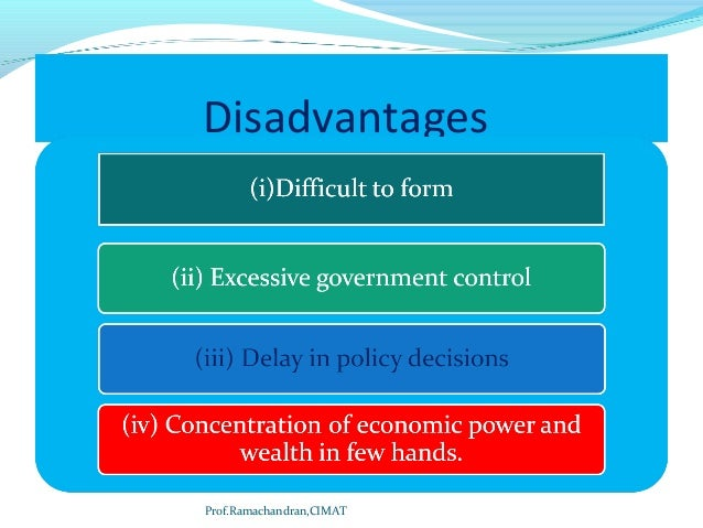 disadvantages of unity of command