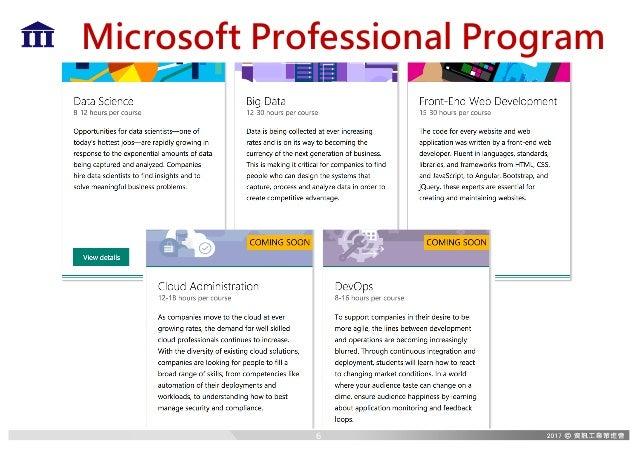 Microsoft Professional Program 6