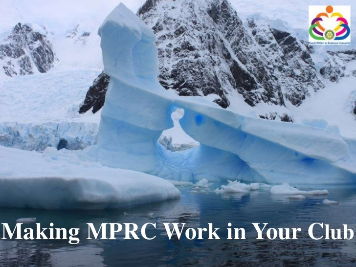 Making MPRC Work in Your Club<br />