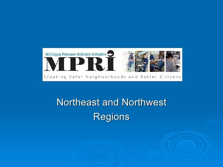 Northeast and Northwest Regions