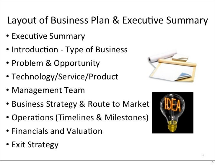 Entrepreneurship 2: Executive Summary & Business Plan