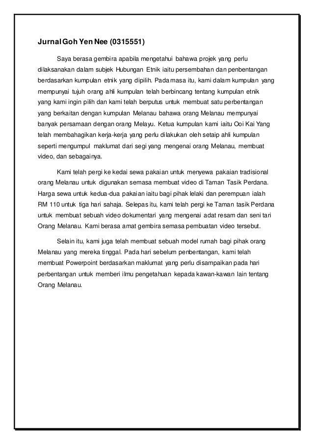 Mpu Report Hubungan Etnik Melanau