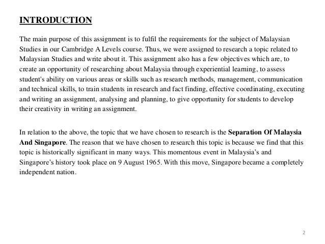 Malaysian Studies assignment!~ I really don't know about Malaysian~ need helps~ Kind Malaysians~?
