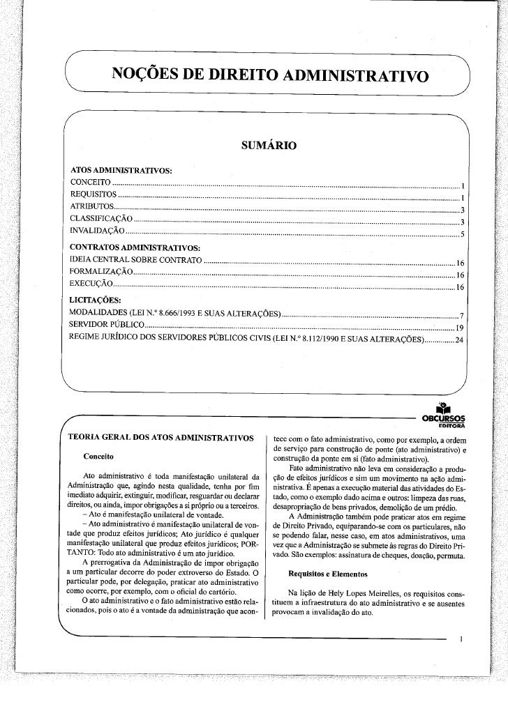 MPU - Direito Administrativo