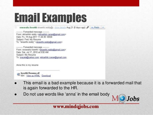 email cover letter and resume etiquette - Roho.4senses.co