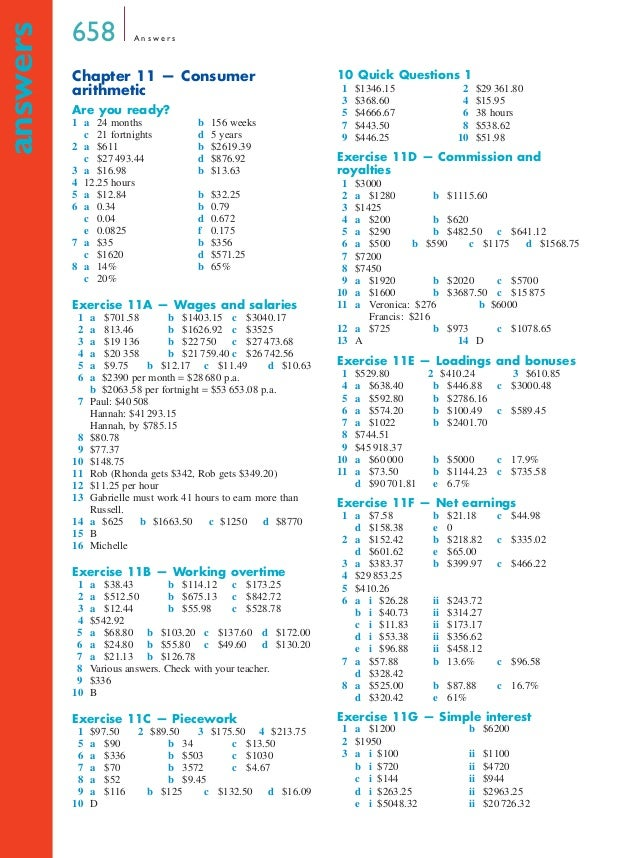 Generous Consumer Mathematics Answers Images - Worksheet Mathematics ...