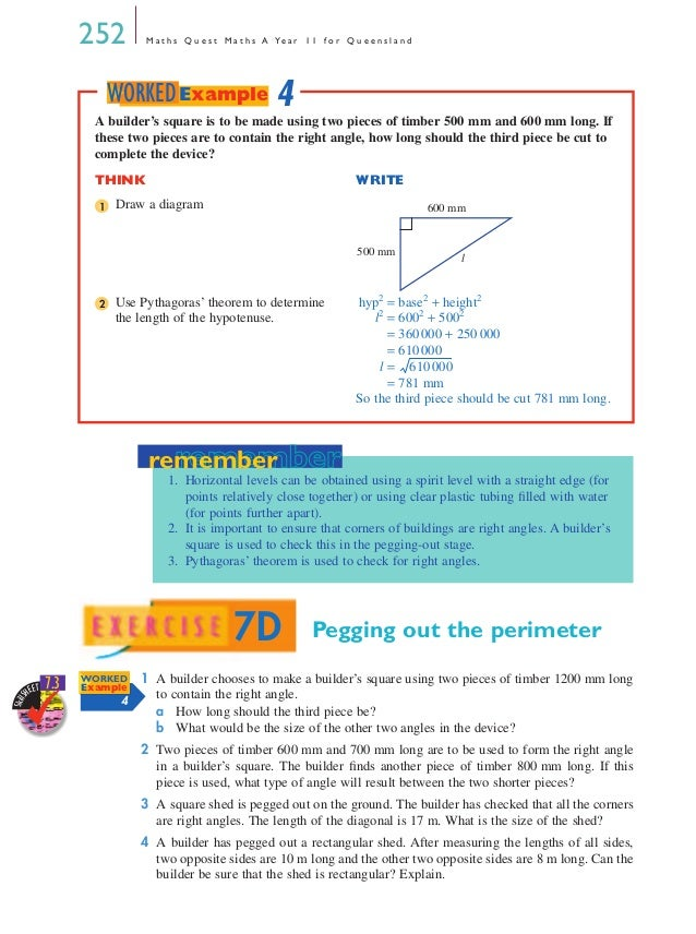 Maths A - Chapter 7
